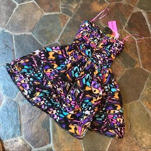 Betsey Johnson butterfly dress 6 NWT prom cute